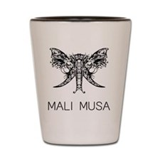 MALI MUSA Ivory Tusks Shot Glass