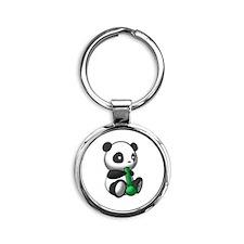Panda Kush Logo Keychains