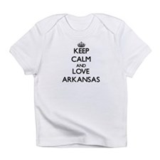 Keep Calm and Love Arkansas Infant T-Shirt
