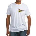 Ringneck Pheasant Fitted T-Shirt