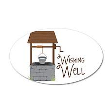 Wishing Well Wall Decal
