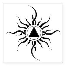 "SUNLIGHT OF THE SPIRIT Square Car Magnet 3"" x 3"""