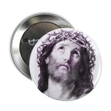 New! Head of Christ Button