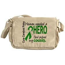 Cerebral Palsy HeavenNeededHero1 Messenger Bag