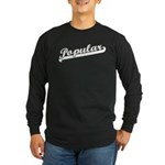 Popular Long Sleeve Dark T-Shirt