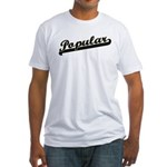 Popular Fitted T-Shirt