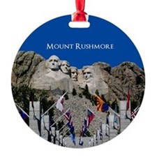 Mount Rushmore Customizable Souveni Ornament