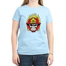 Firefighter Skull T-Shirt