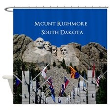Mount Rushmore Customizable Souveni Shower Curtain
