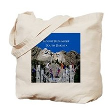 Mount Rushmore Customizable Souvenir Tote Bag