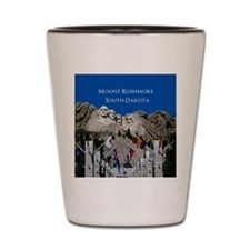 Mount Rushmore Customizable Souvenir Shot Glass