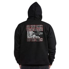 Trucker Do The Math Zip Hoodie