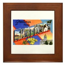 Kentucky Greetings Framed Tile