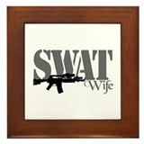 SWAT Wife Framed Tile