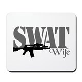 SWAT Wife Mousepad