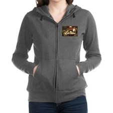 Waterloo Dog Poker Women's Zip Hoodie