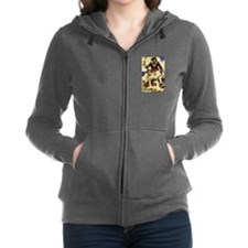 Blackbeard Pirate Women's Zip Hoodie