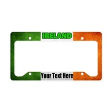 Ireland Flag License Plate Holder