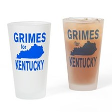 Alison Lundergan Grimes for Kentuck Drinking Glass
