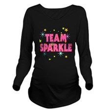 Team Sparkle Long Sleeve Maternity T-Shirt