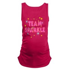 Team Sparkle Maternity Tank Top