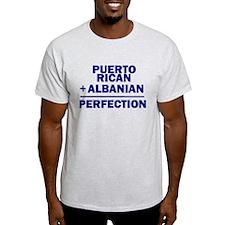 Albanian + Puerto Rican T-Shirt