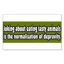 Funny Vegetarianism Decal
