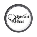 Knockout Artist Wall Clock