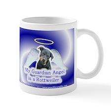 Cute Angel and rottweiler Mug