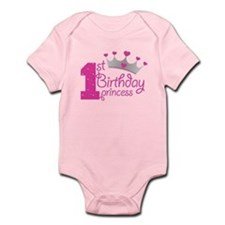 1st Birthday Princess Body Suit