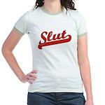 Slut Jr. Ringer T-Shirt