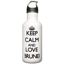 Keep Calm and Love Bru Water Bottle