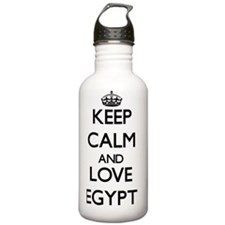Keep Calm and Love Egy Water Bottle