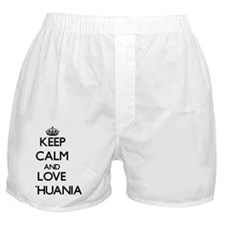 Keep Calm and Love Lithuania Boxer Shorts