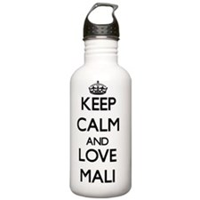 Keep Calm and Love Mal Water Bottle