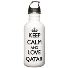 Keep Calm and Love Qat Water Bottle
