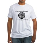 Whatever hits the Fan ... Fitted T-Shirt