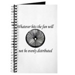 Whatever hits the Fan ... Journal