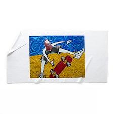 Halfpipe Skater 2 Beach Towel