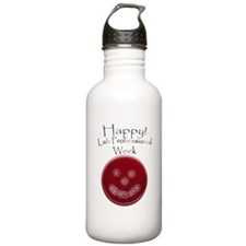 Smiling Petri Dish Water Bottle