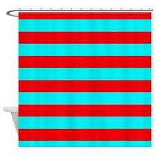 Aqua Shower Curtains