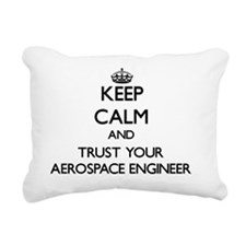 Keep Calm and Trust Your Rectangular Canvas Pillow
