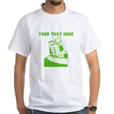 Custom Green DJ T-Shirt
