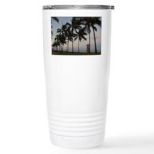 honolulu palms Travel Mug
