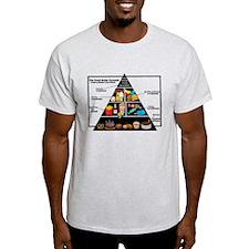 Modern Food Pyramid T-Shirt