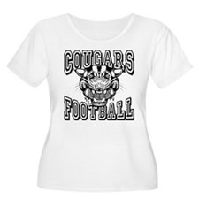 Cougars Football Plus Size T-Shirt