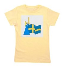 Unique National flag Girl's Tee