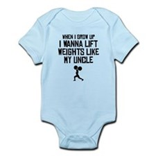 Lift Weights Like My Uncle Body Suit