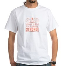 Endometrial Cancer Fighting Strong Shirt