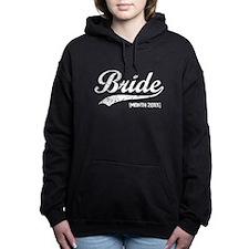 Vintage Bride [DATE] Women's Hooded Sweatshirt